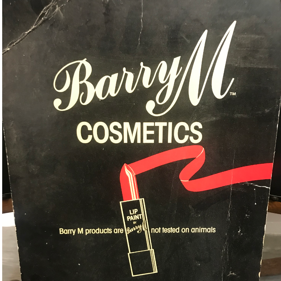 Vintage Barry M Cosmetics Advertising Card VIN351Q