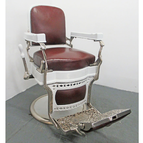 Vintage Koken Barber Chair VIN358A