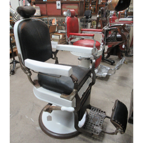 Vintage Koken Barber Chair VIN241D