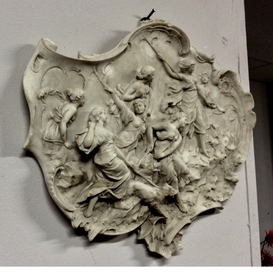 Detailed Decorative Wall Plaque VIN460G