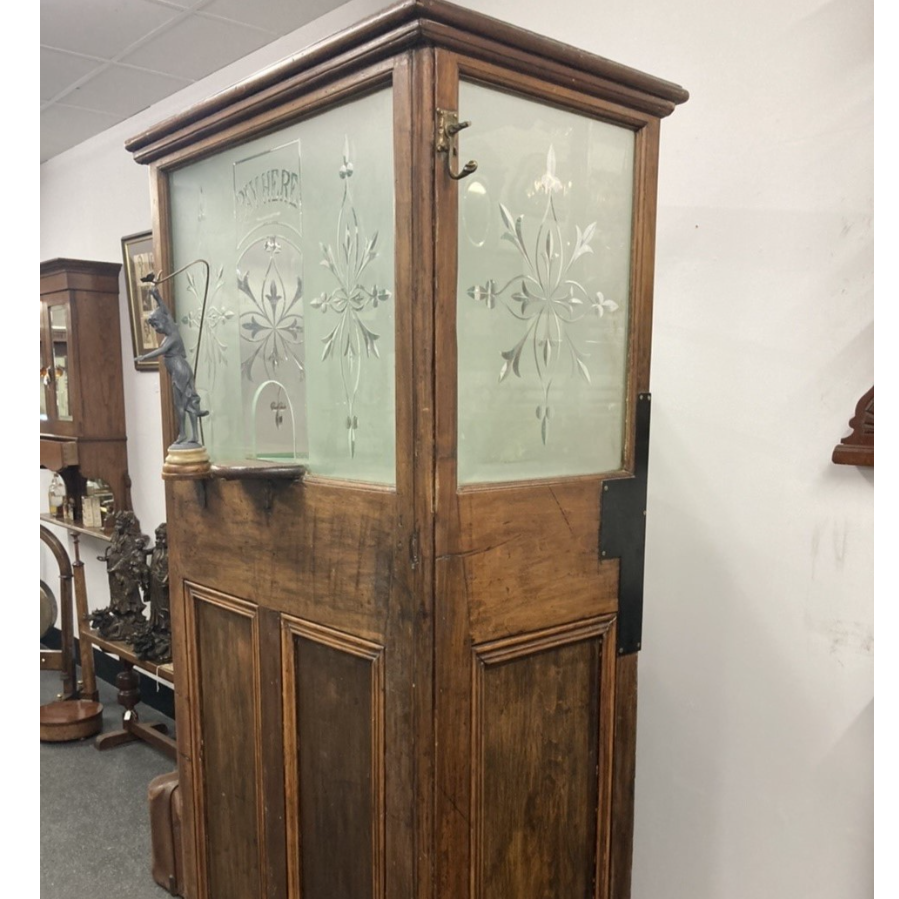 Antique  Early 1900's Pay Booth VIN399I