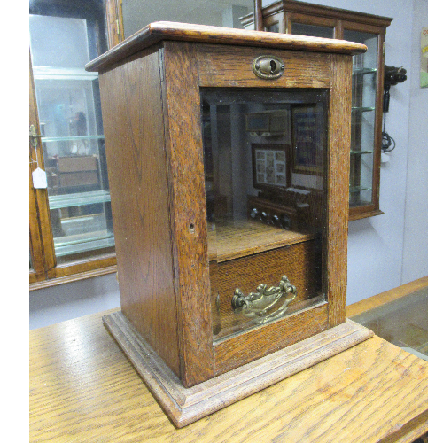 Antique Display Cabinet 100 years old VIN58C