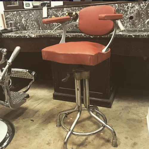 Vintage Barber Childs Chair VIN203F